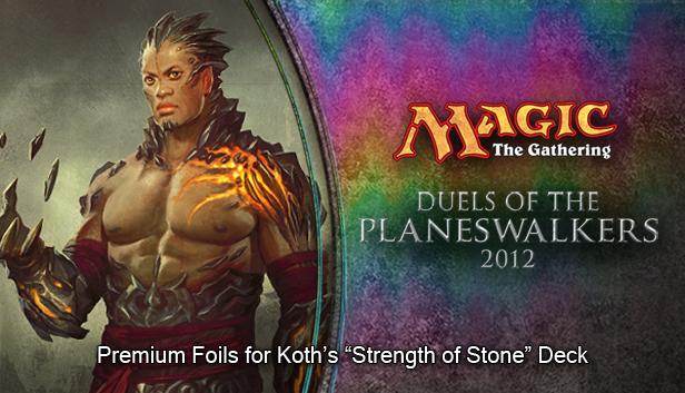 "Magic 2012 Foil Conversion ""Strength of Stone""  screenshot"