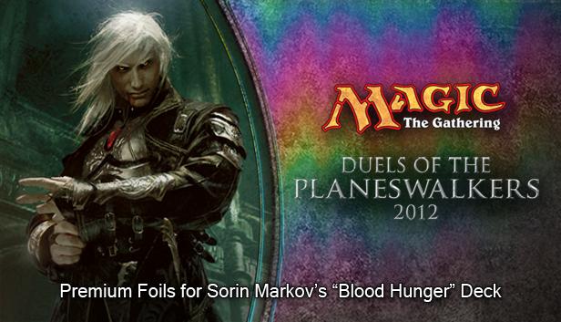 "Magic 2012 Foil Conversion ""Blood Hunger""  screenshot"