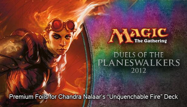 "Magic 2012 Foil Conversion ""Unquenchable Fire"" screenshot"