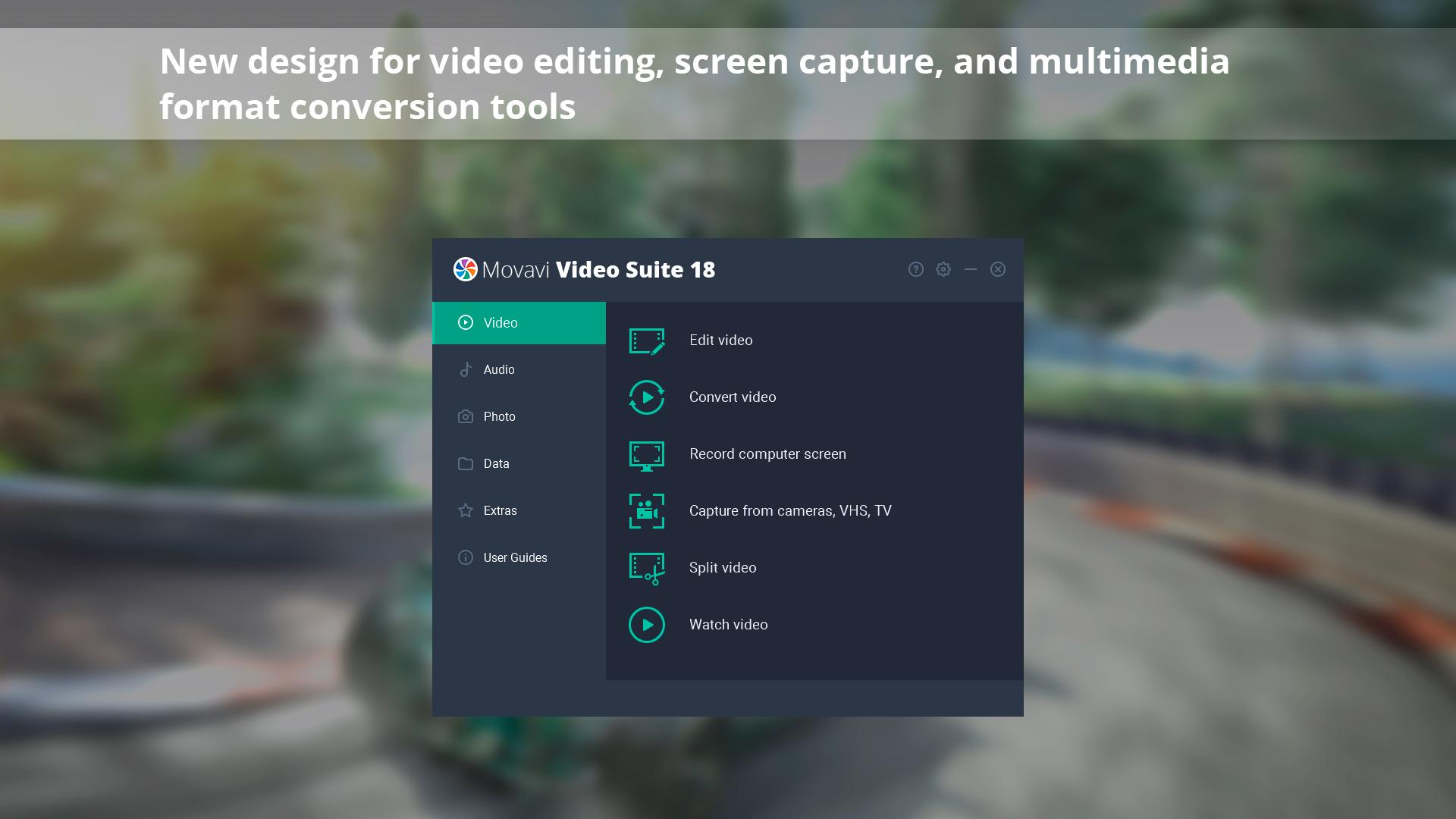 Movavi Video Suite 18 - Video Making Software - Edit, Convert, Capture Screen, and more screenshot