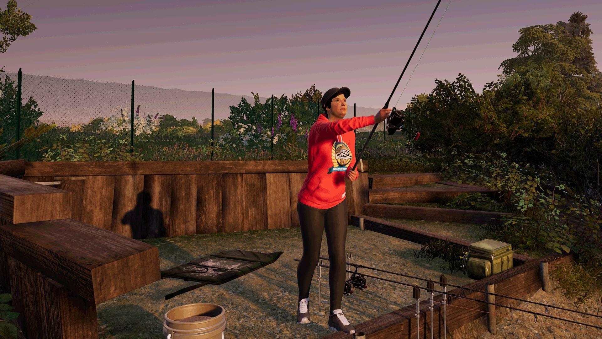 Fishing Sim World: Gigantica Road Lake screenshot
