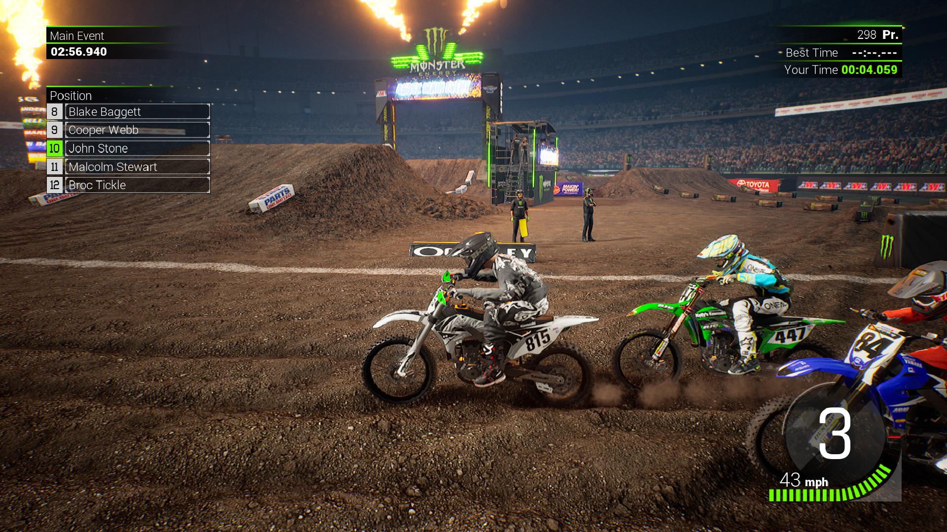 Monster Energy Supercross 2 - The Camo Pack screenshot