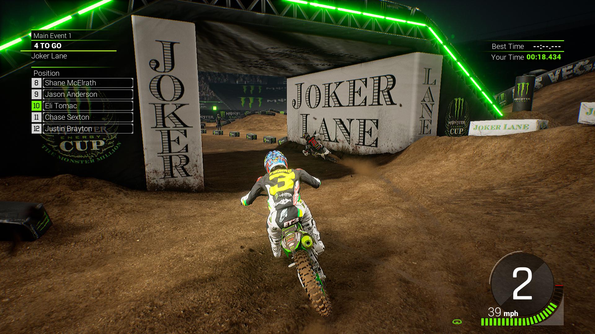Monster Energy Supercross 2 - Monster Energy Cup screenshot