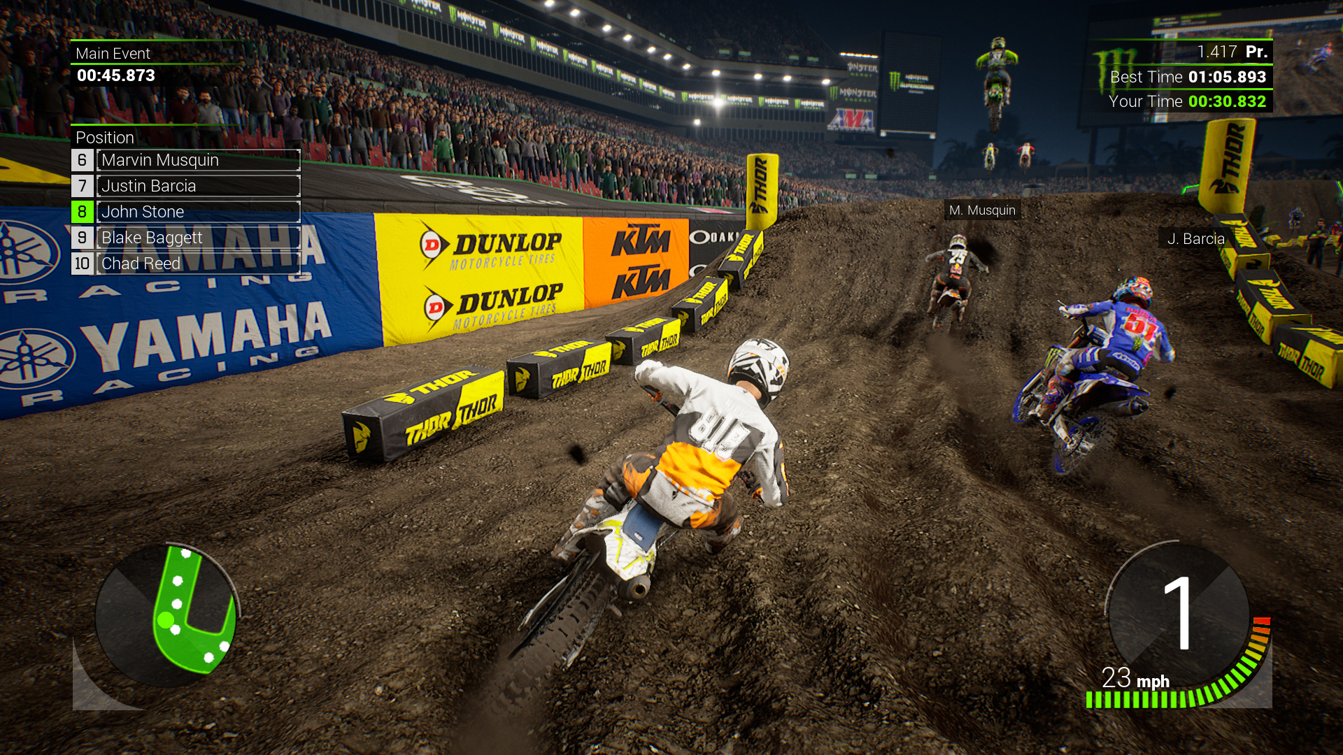 Monster Energy Supercross 2 - Outfit starting pack screenshot