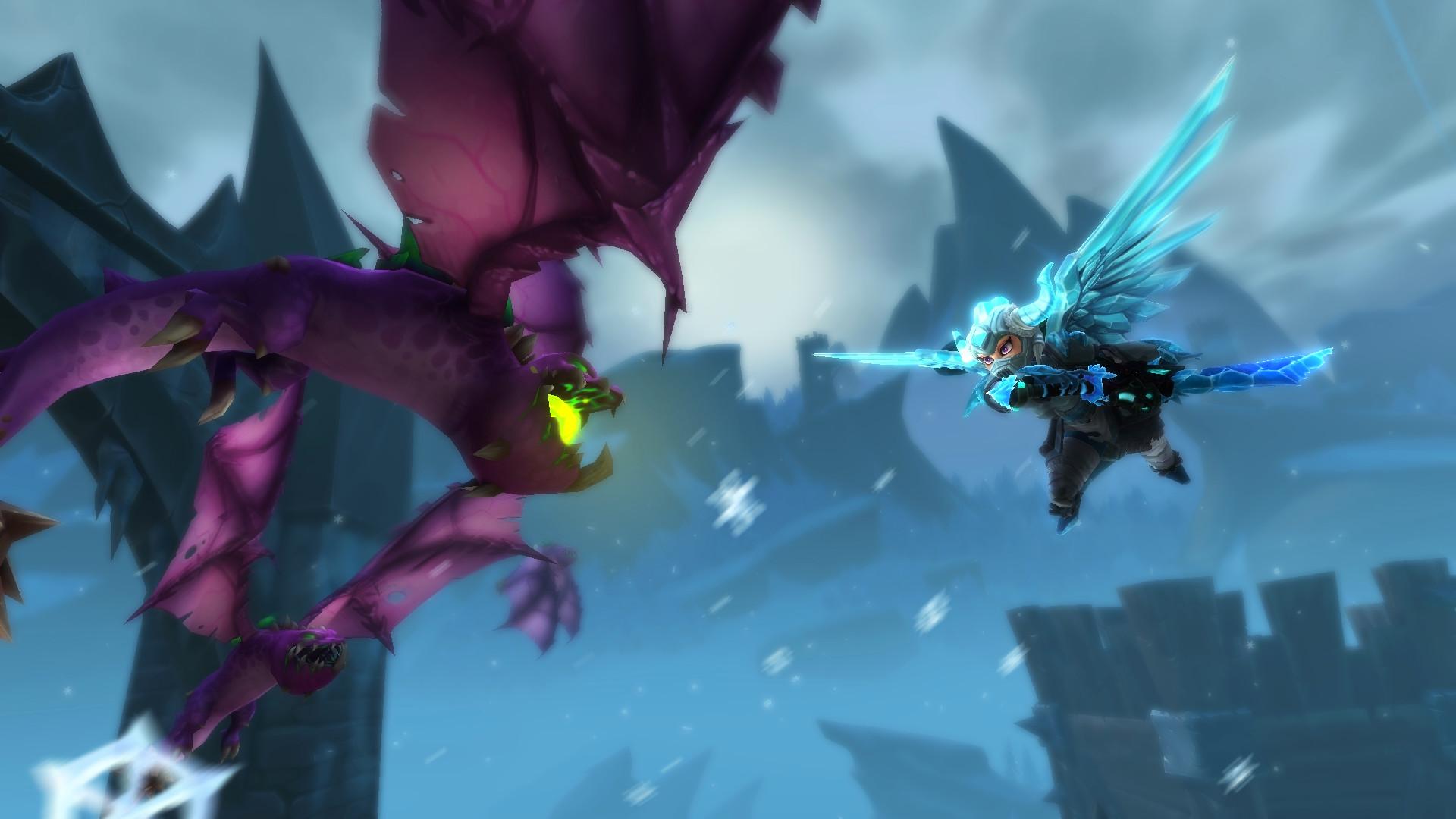 Dungeon Defenders II - Frosty Etherian Gem Mine screenshot