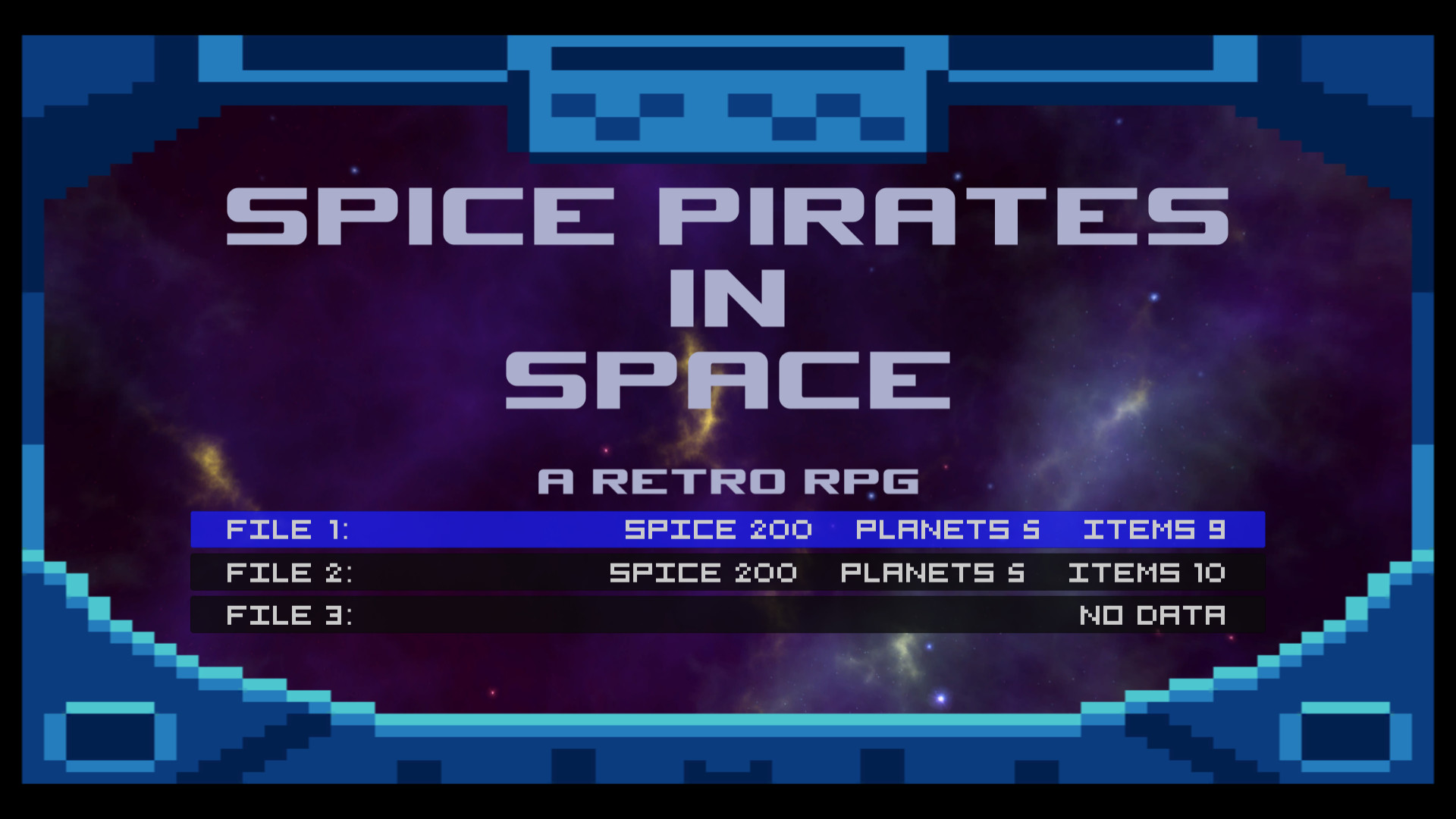 Spice Pirates in Space: A Retro RPG screenshot