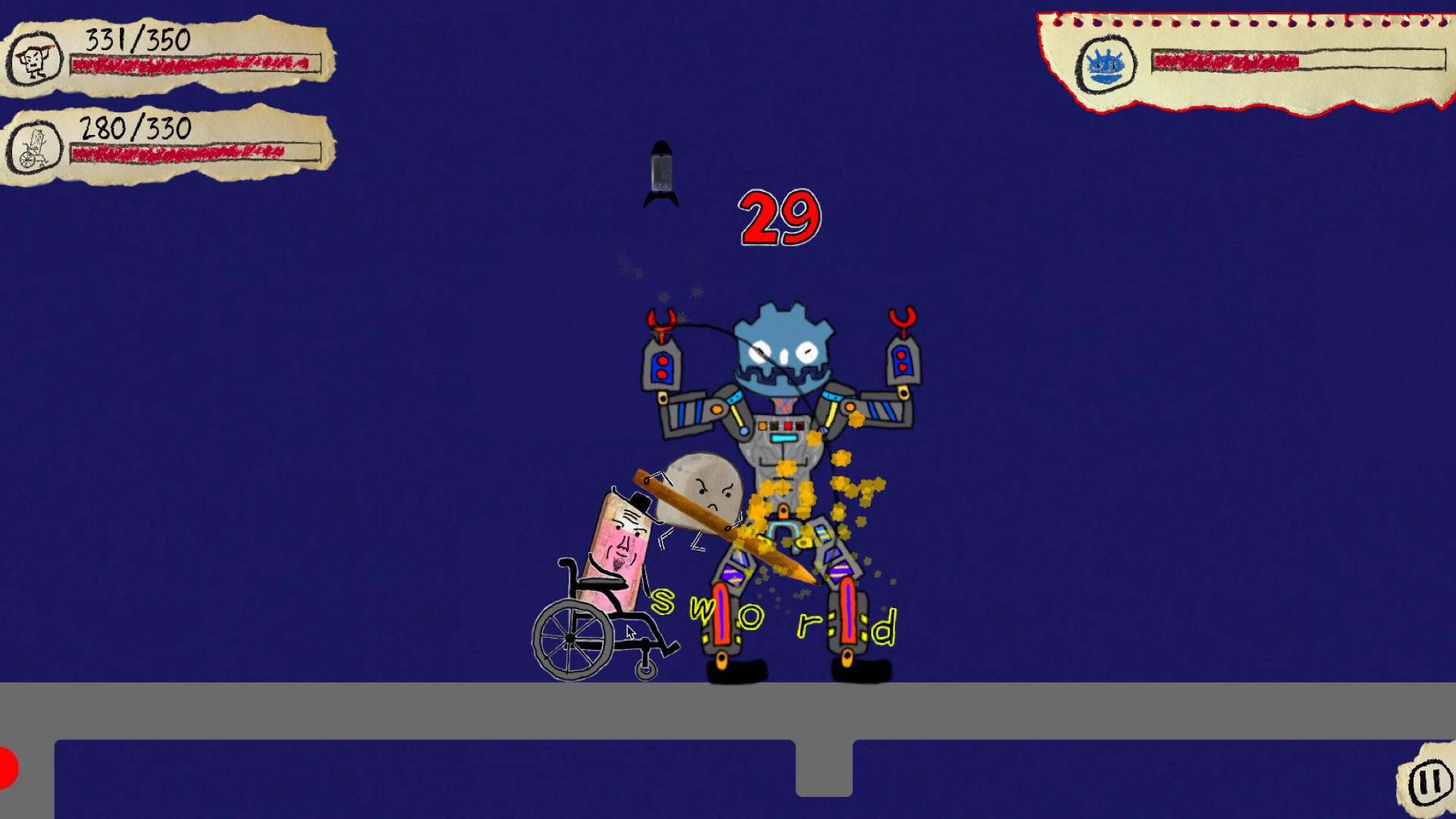 Knights Rubbish screenshot