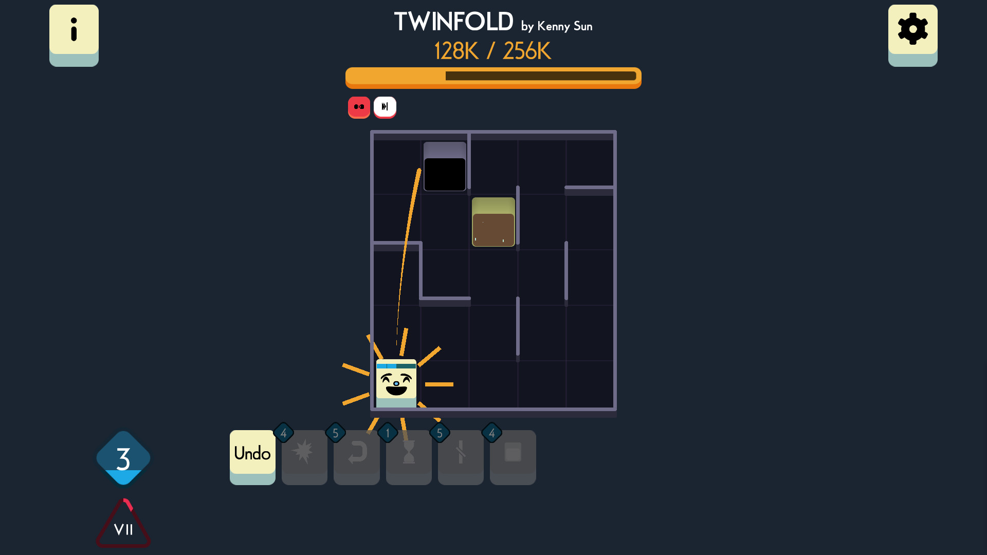 Twinfold screenshot