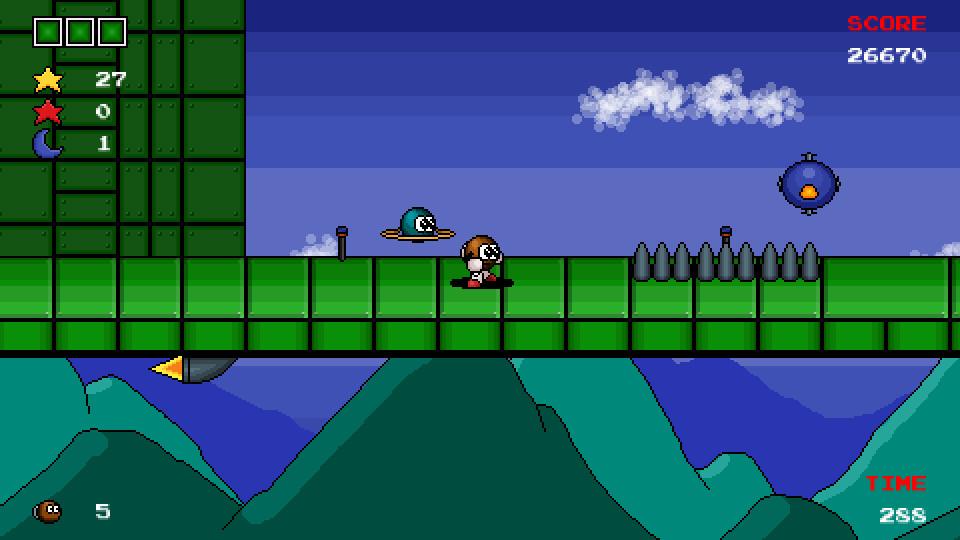 Comit in Krater Returns screenshot