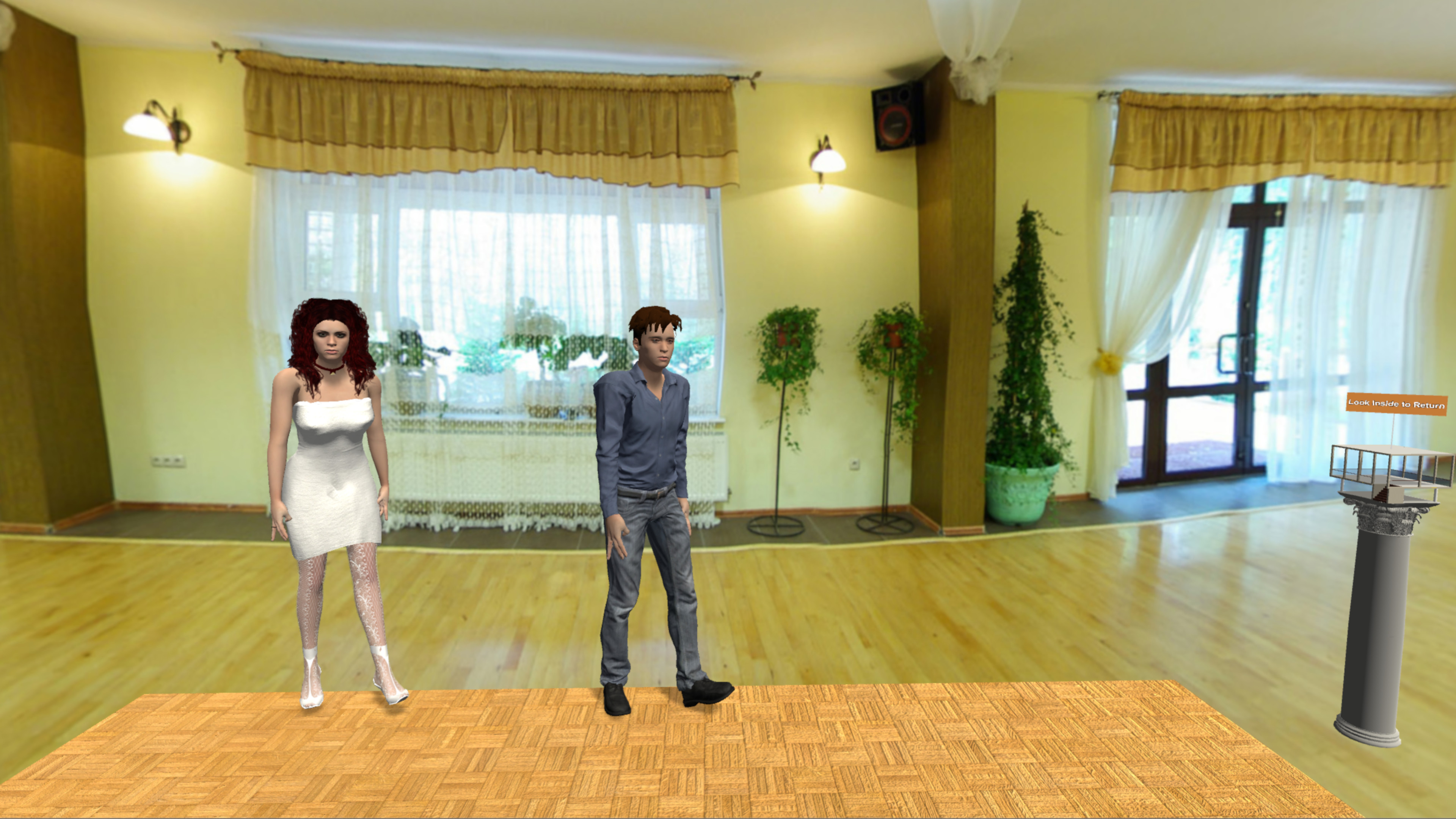 Line Dance Virtual screenshot