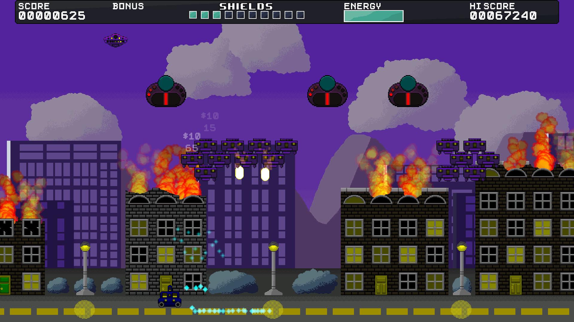 Tecroroid Assault screenshot