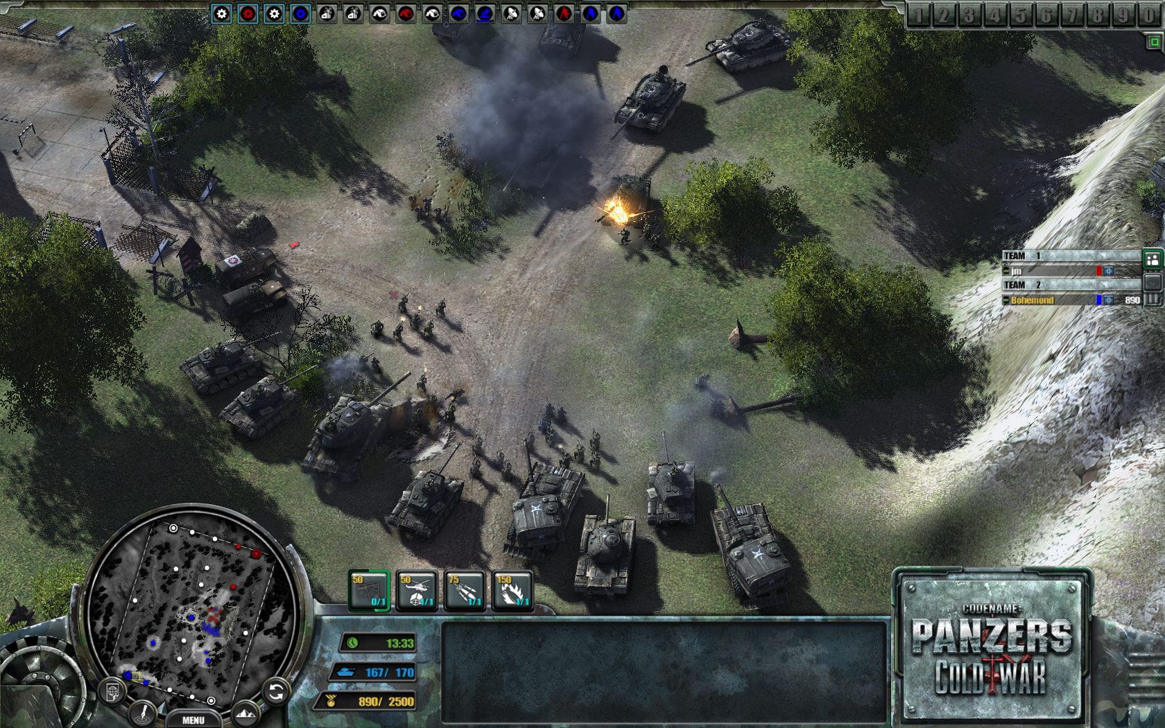Codename: Panzers - Cold War screenshot