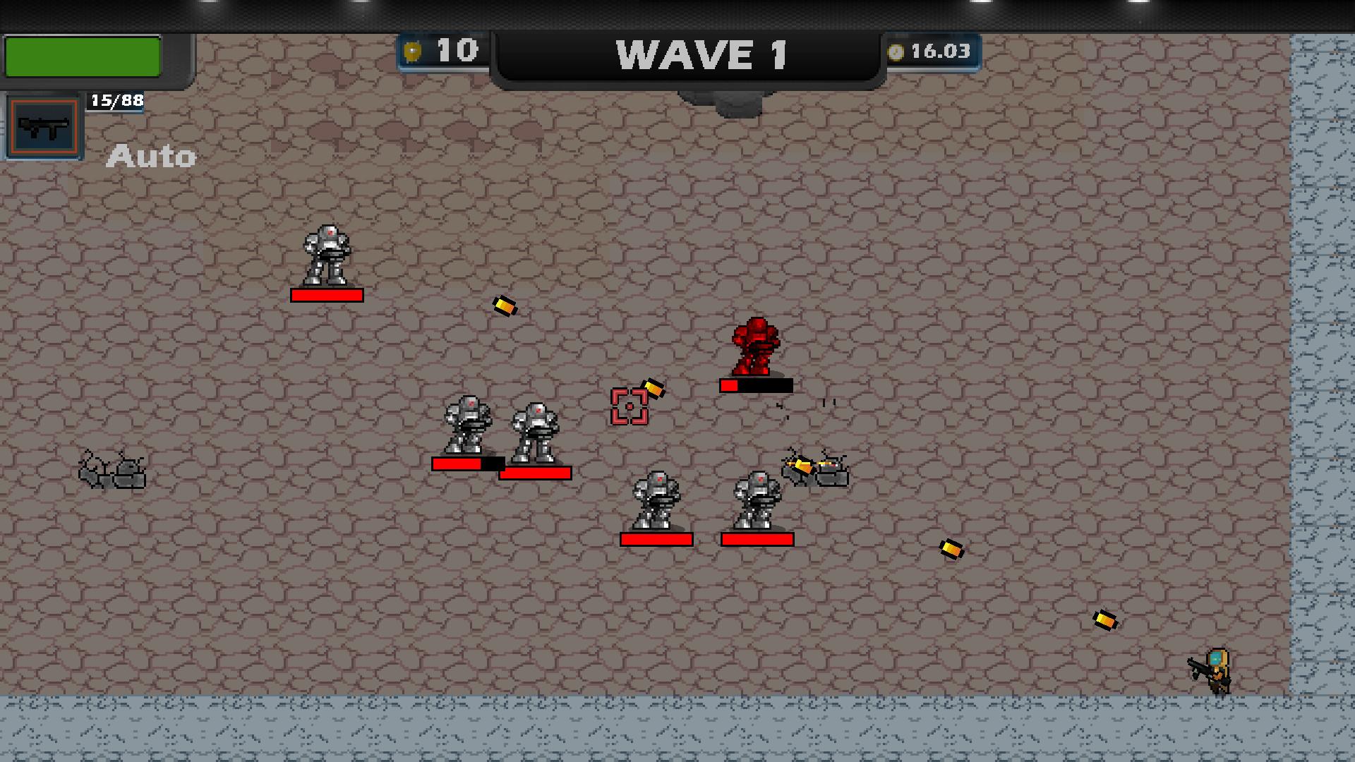 Flucht Scorched screenshot