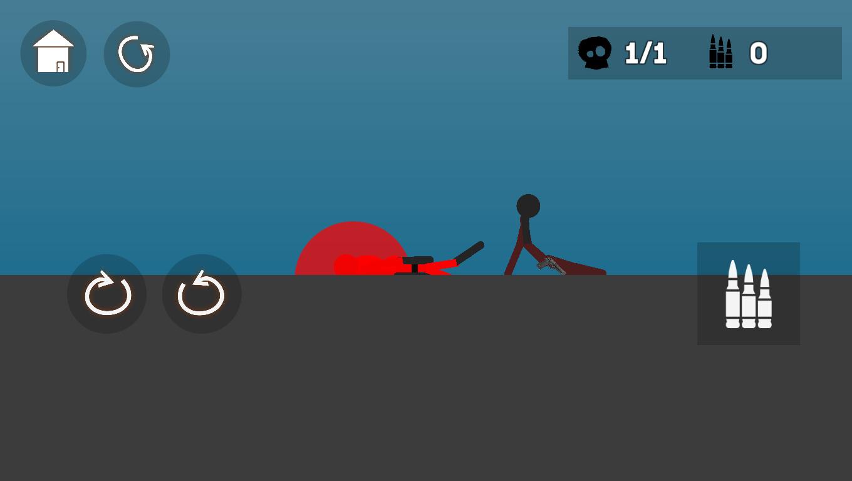 Stick man Flipper screenshot