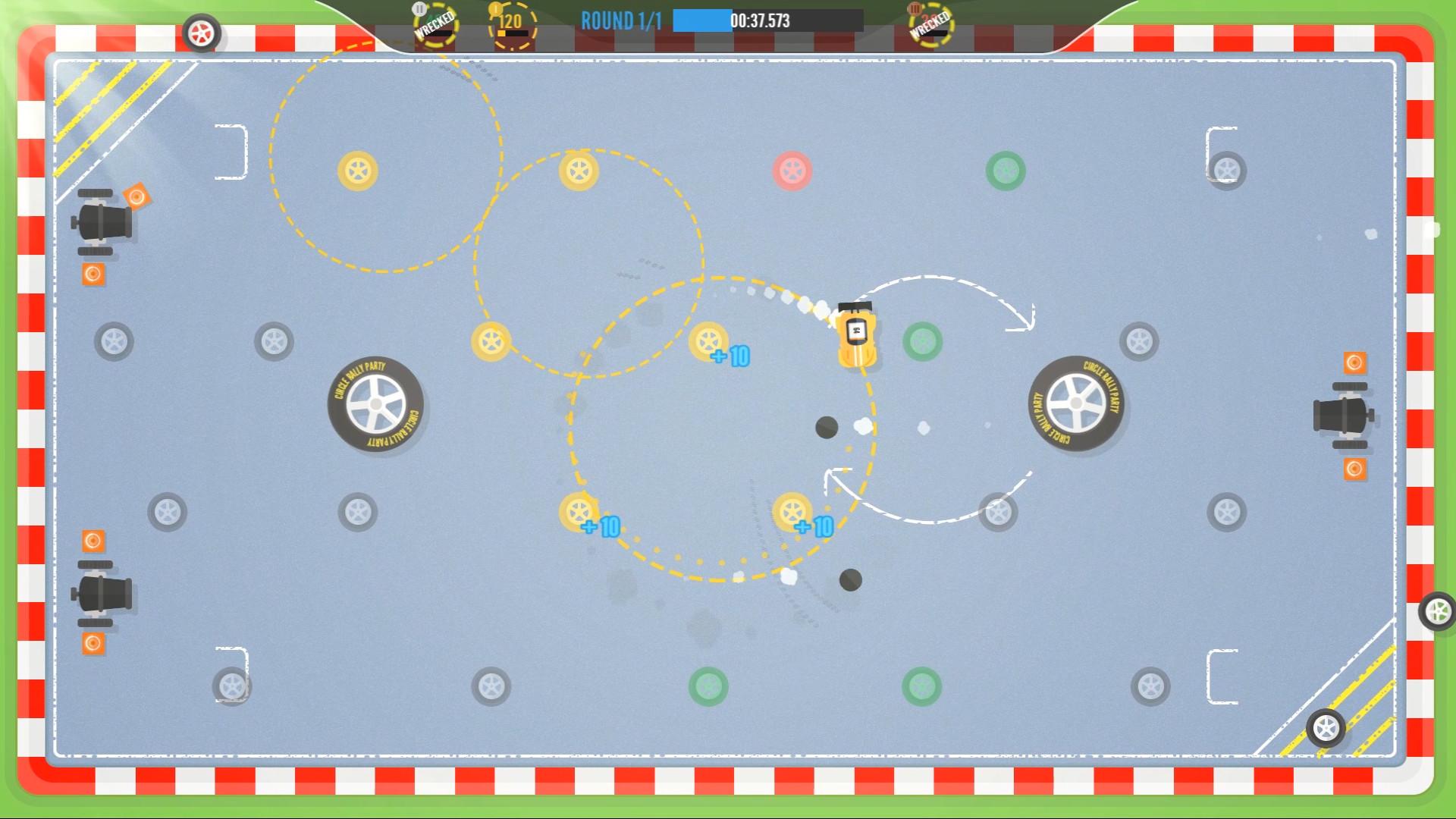 Circle Rally Party screenshot
