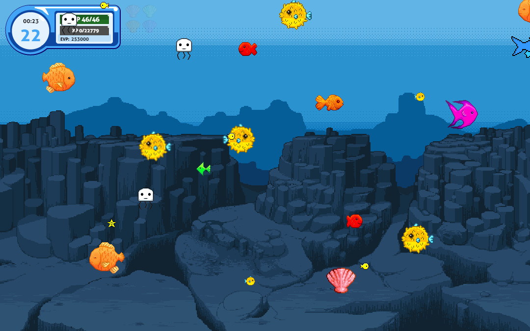 Pixel Fish screenshot