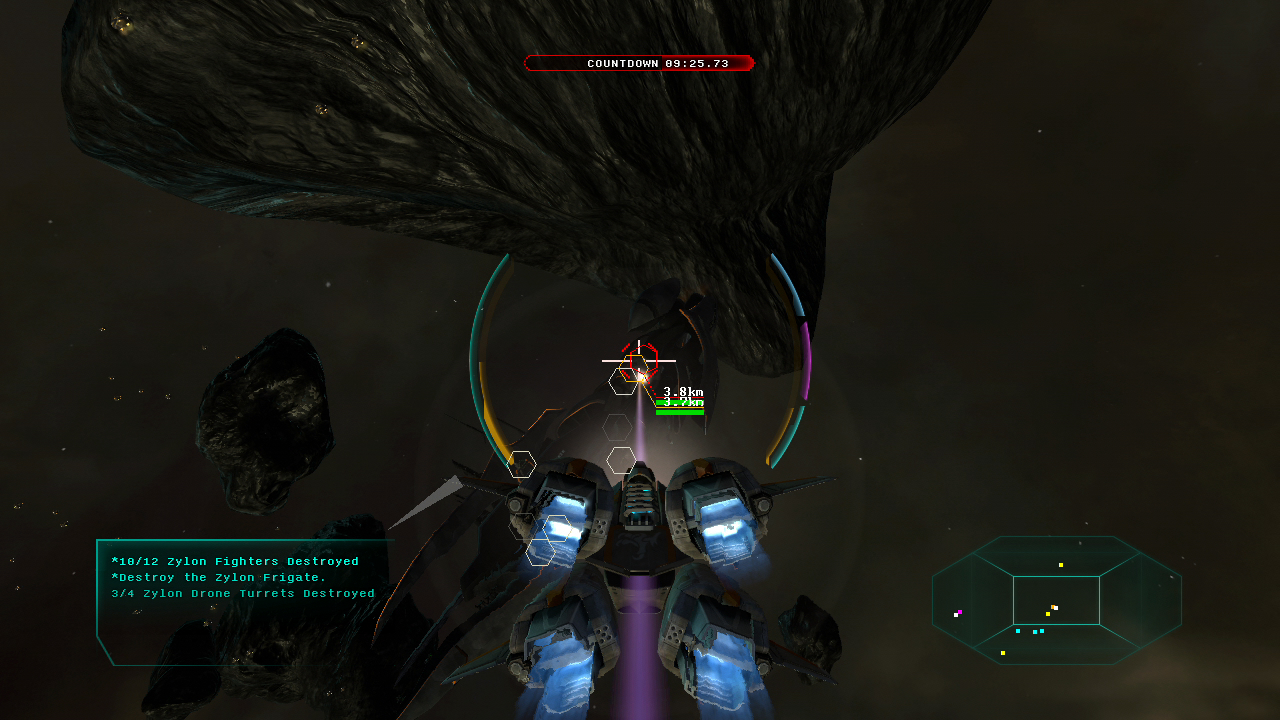 Star Raiders screenshot