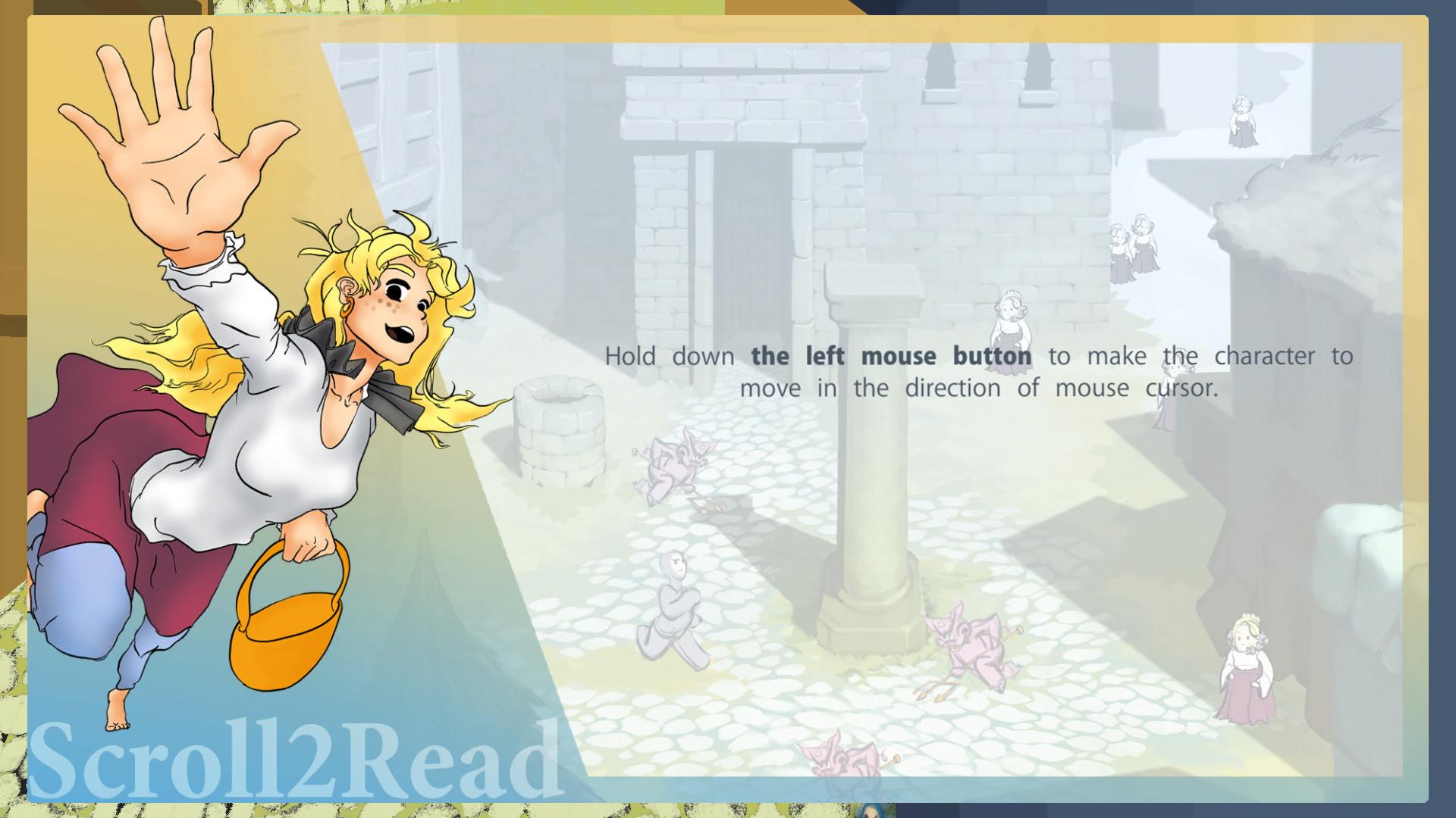Scroll2Read screenshot