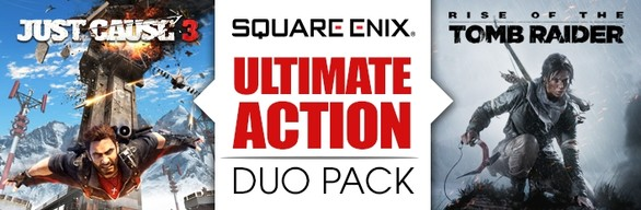 Ultimate Action Duo Pack: Just Cause 3 + Rise of the Tomb Raider