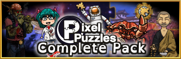Pixel Puzzles Complete Collection