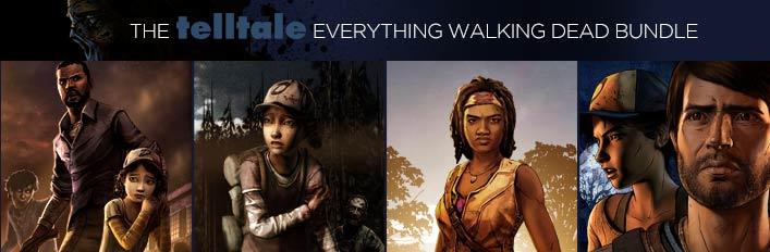 The Telltale Everything Walking Dead Bundle