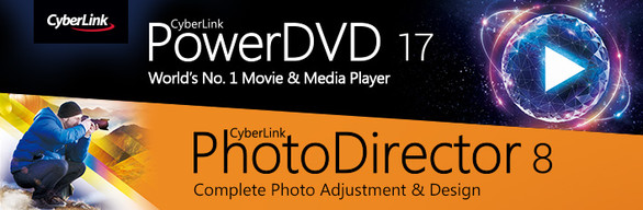 CyberLink PowerDVD 17 & PhotoDirector 8 Ultra Duo