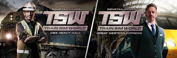 Train Sim World®: CSX Heavy Haul + Great Western Express Pack