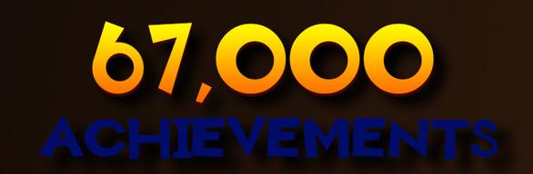 +67,000 ACHIEVEMENTS