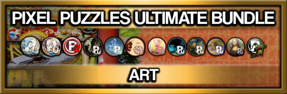 Pixel Puzzles Ultimate: Art Collection