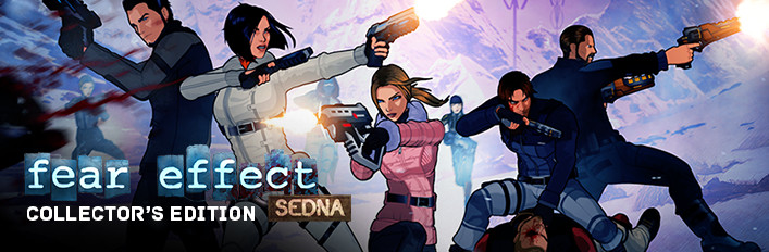 Fear Effect Sedna Collector's Edition