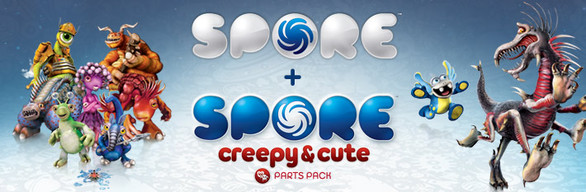 SPORE™ + SPORE™ Creepy & Cute Parts Pack
