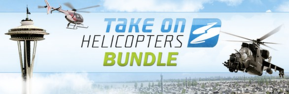 Take On Helicopters Bundle por R$ 9,99 no Steam Header_586x192