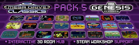 SEGA Mega Drive and Genesis Classics Pack 5