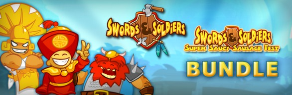 Swords and Soldiers + Super Saucy Sausage Fest DLC