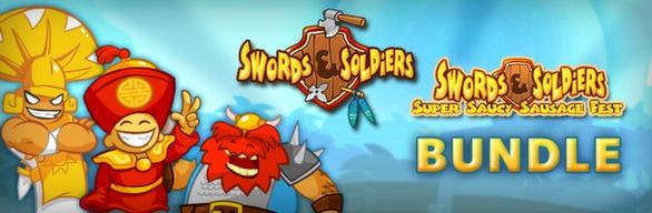 Swords and Soldiers + Super Saucy Sausage Fest DLC