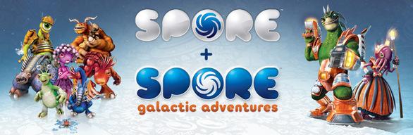 SPORE™ + SPORE™ Galactic Adventures
