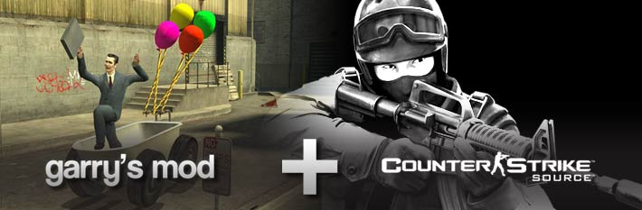 Counter-Strike: Source + Garry's Mod