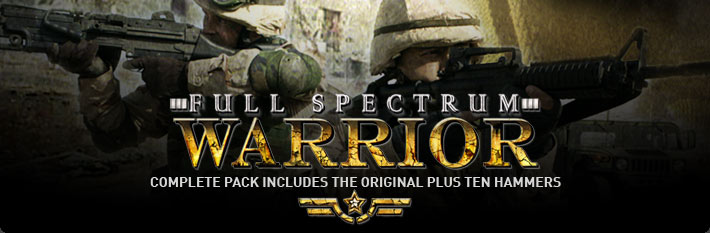 Full Spectrum Warrior Complete Pack