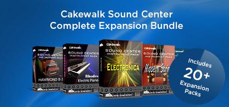 Cakewalk - Sound Center Pack Complete Bundle