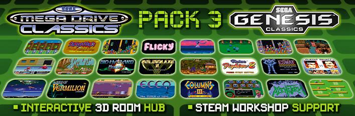 SEGA Genesis/Mega Drive Classics Pack 3