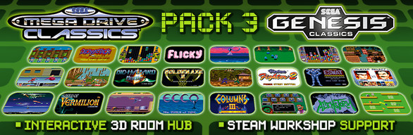 SEGA MegaDrive & Genesis Classics Pack 3