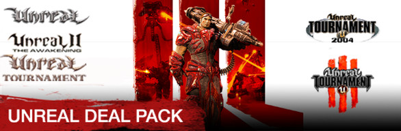 Buy Unreal Deal Pack. Includes 5 items: Unreal 2: The Awakening, Unreal Gold, Unreal Tournament Editor's Choice Edition, Unreal Tournament 3 Black, Unreal Tournament: Game of the Year Edition Package info. $ Add to Cart. About This Game.9/10().