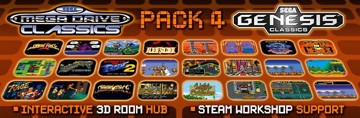 SEGA Genesis/Mega Drive Classics Pack 4