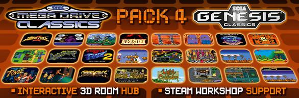 SEGA Genesis Classics Pack 4