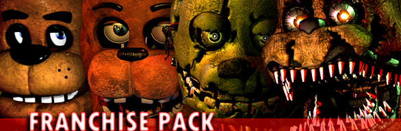 Five Nights at Freddy's Franchise Pack (1-4)
