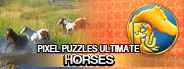 Pixel Puzzles Ultimate - Puzzle Pack: Horses