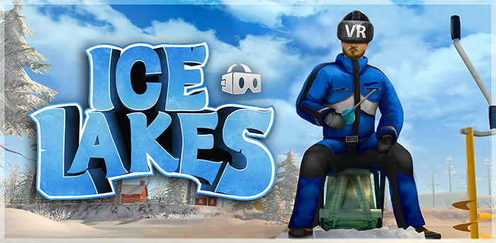 Ice lakes ice lakes vr update for Lake fishing games