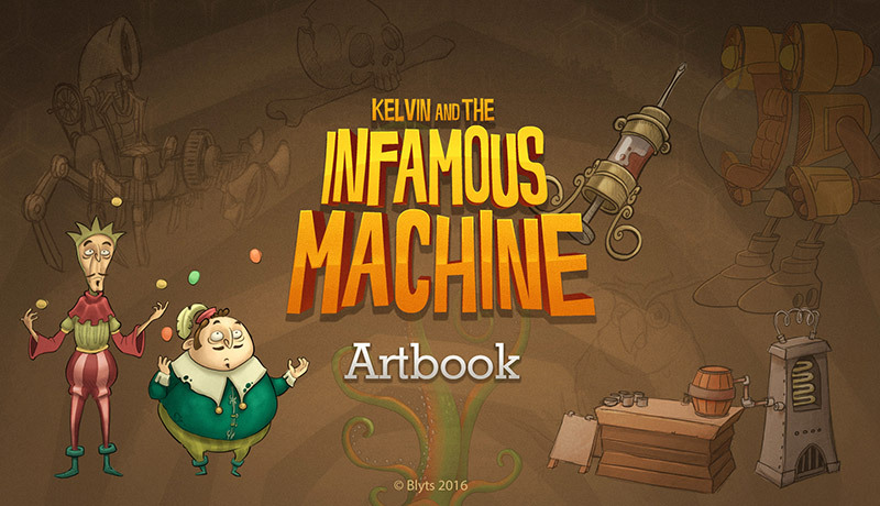 เกม Kelvin And The Infamous Machine