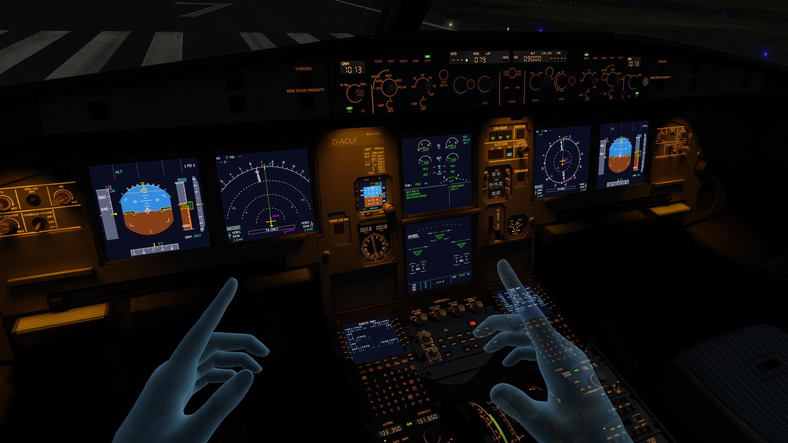 Авиатренажер Dream Aero Boeing 737