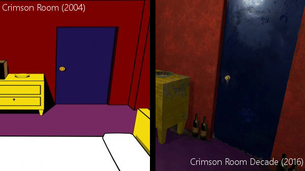 The setup might look familiar but nothing is as you remembered it  All new  puzzles will challenge your resolve  Explore the room in 3D space  and even  in VR. Steam Community    Group Announcements    Crimson Room  Decade